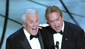 Kirk Douglas' Fun and Powerful Oscars Moments: Flirting with Anne Hathaway to Recovering from a Stroke
