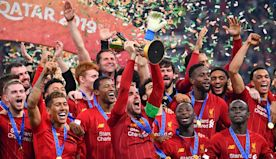 Liverpool players react to Club World Cup glory
