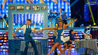 Strictly Come Dancing 2018, Blackpool special: Ashley Roberts tops seaside scoreboard with first perfect 40 of series