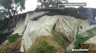 At least 6 dead after landslides strike Bangladesh refugee camp