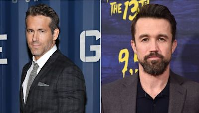 Internet friends Ryan Reynolds and Rob McElhenney bought a Welsh soccer team for some reason