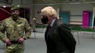 Johnson visits Scotland despite criticism