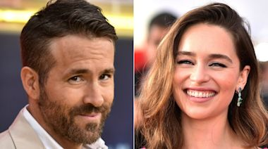 Ryan Reynolds Hilariously Trolled Emilia Clarke Over Their Shared Birthday