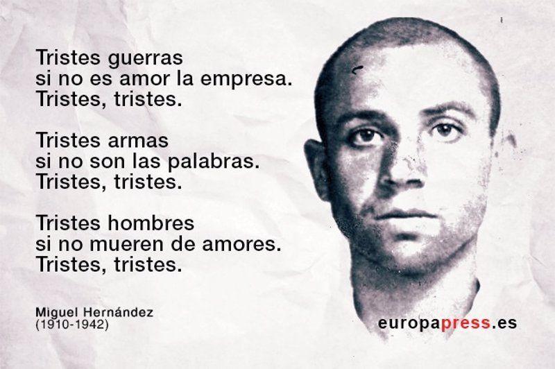 74 años de la muerte de Miguel Hernández: 10 de sus poemas ...