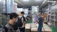 台中1工廠偽造醫療口罩 查獲47萬片!