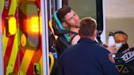 Footage revealed of Nick Jonas's brutal bike wreck on Olympics special