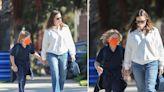 Jennifer Garner Picks Up Son Samuel From School As Romance With Boyfriend John Miller Gets 'Serious' — Photos
