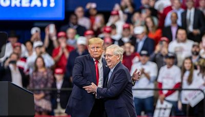 McConnell called Trump 'a fading brand… off-the-track Thoroughbred,' book says
