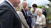 President Biden, first lady meet Queen Elizabeth II after G-7 summit