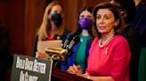 House Speaker Nancy Pelosi suggests Democrats could cut major pieces of Biden's economic plan