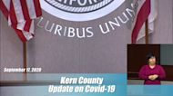 Kern County Health Department Coronavirus Update: September 17, 2020
