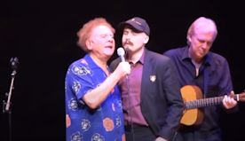 Art Garfunkel And His Son Harmonize Beautifully During Everly Brothers' Cover