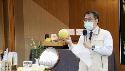 黃偉哲邀大家來台南「呷柚」6家飯店推出白柚創意料理饗宴