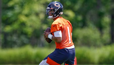 Bears training camp: Andy Dalton, Justin Fields look as expected