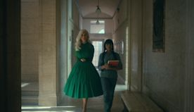 'The Umbrella Academy': Kate Walsh and Costume Designer Christopher Hargadon Break Down the Handler's Iconic Season 2 Looks