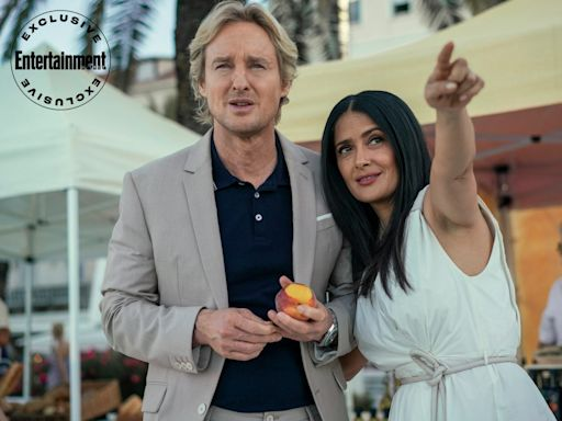 Owen Wilson and Salma Hayek escape from reality in exclusive Bliss trailer