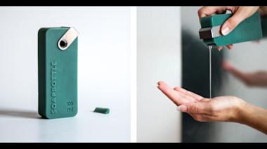 用完的沐浴乳瓶子還可以當肥皂 完全可回收的清潔用品 - 癮科技 Cool3c