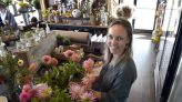 Banker opens flower and gift store in Hampden after years of arranging bouquets as a hobby