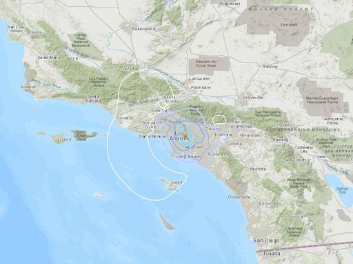 3.6-magnitude earthquake hits Los Angeles area