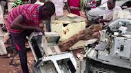 Nigeria battles a rising tide of e-waste