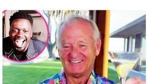 Martini, Anyone? Bill Murray Toasts Daniel Kaluuya After Win