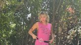 Miley Cyrus Poses on Dad Billy Ray Cyrus' Truck in NSFW Graphic Tee (and No Pants)