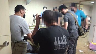 桃警攻堅地下賭場 17賭客見警上門錢亂藏 | 蘋果新聞網 | 蘋果日報