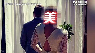 地表最「壯」新娘?一轉身全愣原地