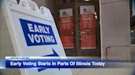 Illinois early voting for 2020 general election begins in some counties