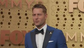 Justin Hartley's new movie pokes fun at cell phone attachment