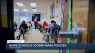 More schools loosen mask policies