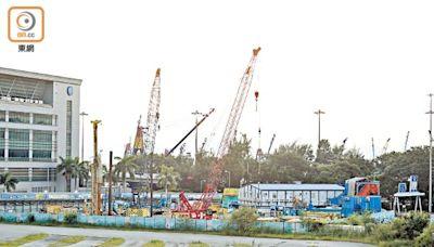 接連爆沉降事故 渡華路消防設施及中九龍幹線啟德通風樓未復工