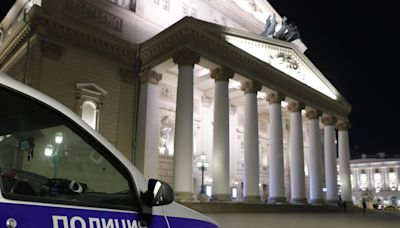 An actor at Moscow's Bolshoi Theatre was crushed to death by falling scenery during a set change, reports say