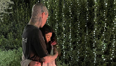 Kourtney Kardashian and Travis Barker Have Already Talked About Getting Engaged Three Months Into Dating