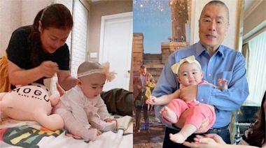 劉詩昆老當益壯82歲得女感自然 老婆孫穎:生多兩個弟弟就最理想