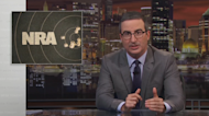John Oliver once again takes aim at the NRA, wishes 'thoughts and prayers' for NRA TV