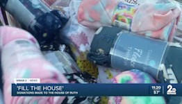 'Fill the House' donations made to the House of Ruth on Wednesday