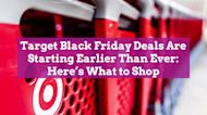 Target Black Friday Deals Are Starting Earlier Than Ever: Here's What to Shop