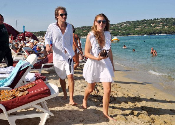 Princess Beatrice and Boyfriend at the Beach - Zimbio
