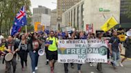 Crowds Chant 'F**k Joe Biden' as Teachers' Vaccine Mandate Takes Effect in New York