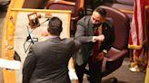 New Mexico legislative session opens in eerily empty Capitol building