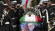 Iran Holds Funeral For Nuclear Scientist As Biden Briefed
