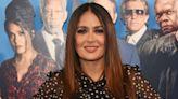 Salma Hayek's Pet Owl Once Threw up on Major Pop Star