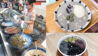 高雄瑞豐夜市知名豆花店「福中居」,自家熬煮配料天然又美味