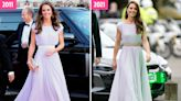 How Kate Middleton looked then and now as she dazzles at Earthshot awards in recycled dress