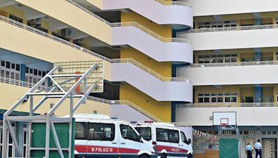 天水圍7歲童小學墮斃 疑4樓越欄