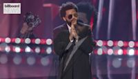 iHeart Radio Music Awards: The Weeknd & Ariana Grande Give TV Debut Performance of 'Save Your Tears' | Billboard News