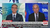 Dr. Anthony Fauci Says He's 'Very Heartened' by Republicans Suddenly Promoting Vaccines