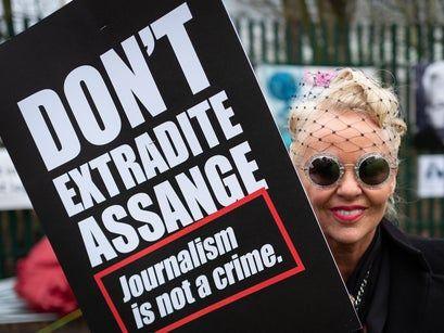 Julian Assange supporters urge Joe Biden to drop prosecution saying Trump was 'opposed to free press'