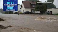At least 187 dead, 300 still missing after devastating floods in Europe